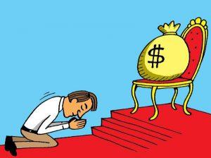 Idolatría al dinero