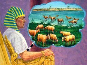 La siete vacas flacas